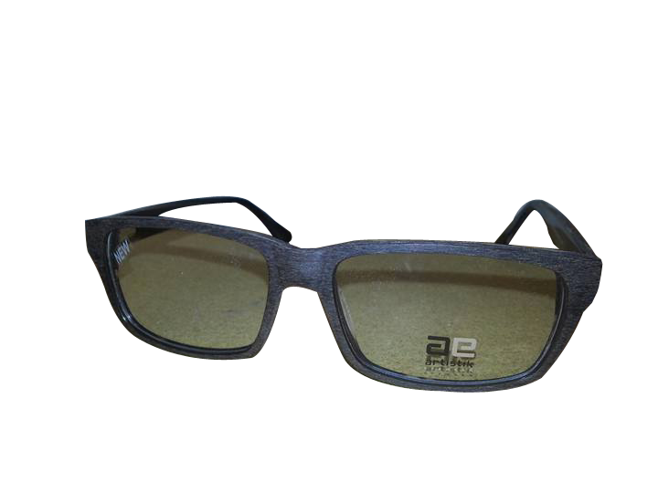 Dark lens glasses