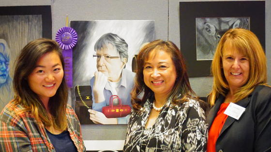 Congratulations to Wilson High School Senior Christina Woo - HLPUSD 2016 Art Show winner of the Superintendent's Award for Best in Show